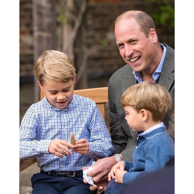 Принц Уильям в детьми