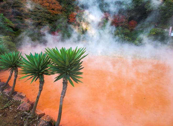 Водоймища світу: ТОП-5 найкрасивіших гарячих джерел на планеті