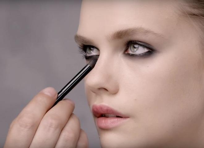 макияж глаз Black Opium от YSL
