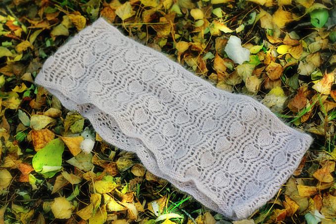 Шарф, схема вязания, теплые вещи