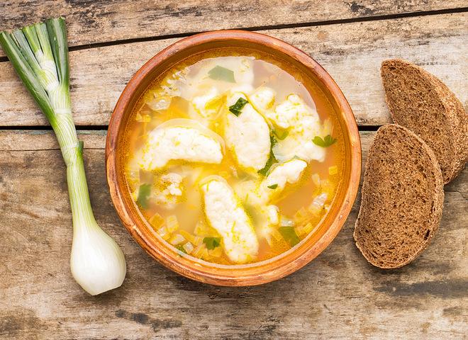 Вкусные клёцки для супа рецепт