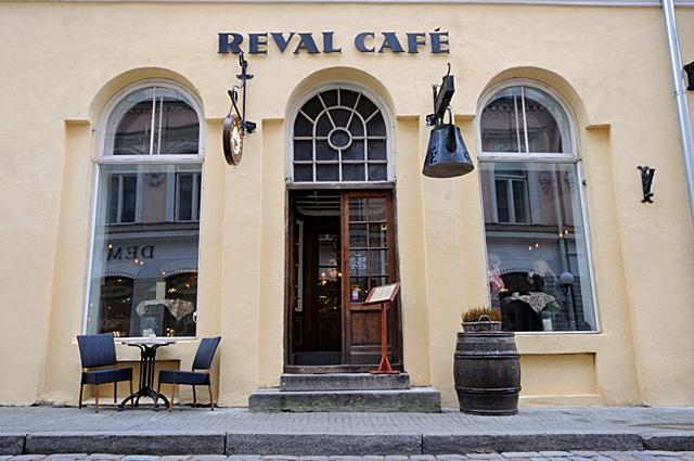 Цікаві місця Таллінна: Reval Cafe