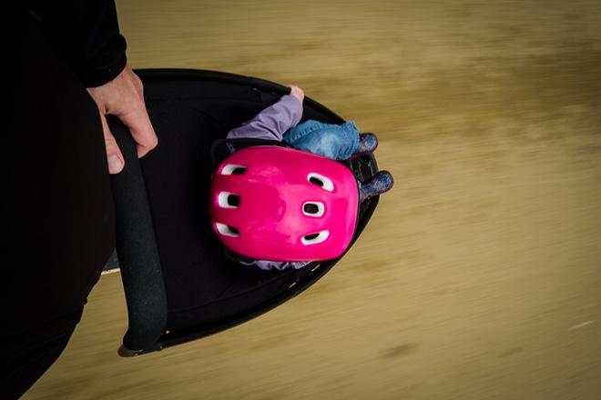 Лонгборд-коляска