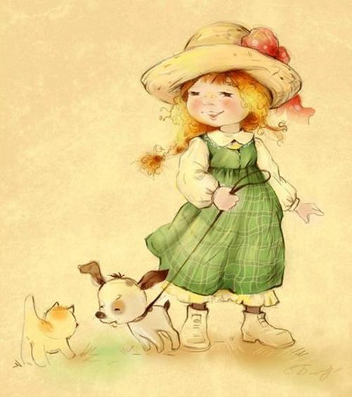 Очаровательные девчушки от Екатерины Бабок