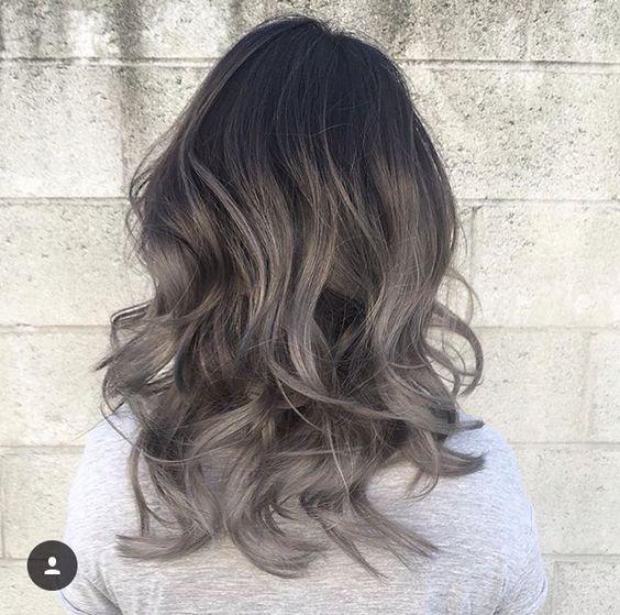 Фарбування волосся для брюнеток влітку