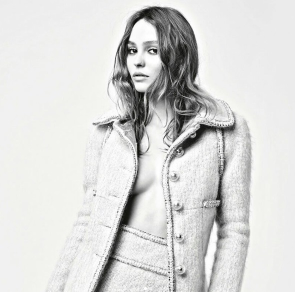 Кара Делевинь и Лили Роуз-Депп для Chanel