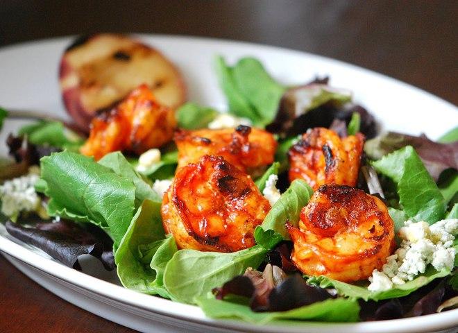 Рецепты салатов с морепродуктов фото