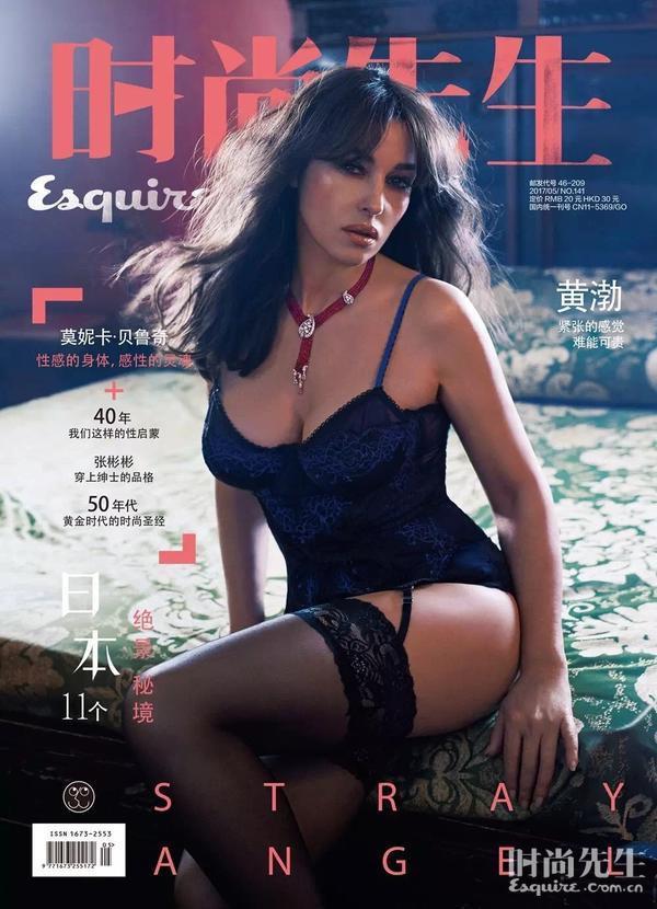 Моника Белуччи для Esquire China