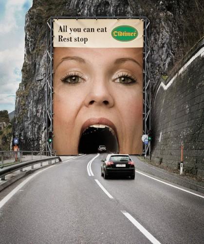 Креативная реклама!))