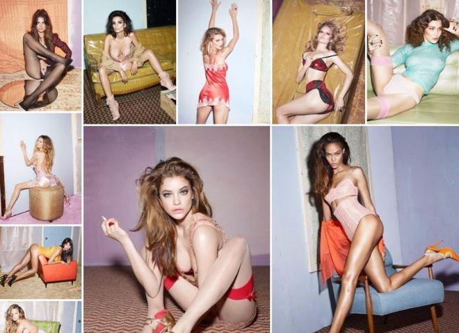 10 самых популярных моделей для W Magazine
