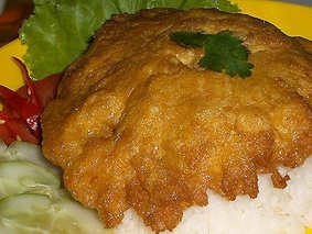 Омлет по-тайски