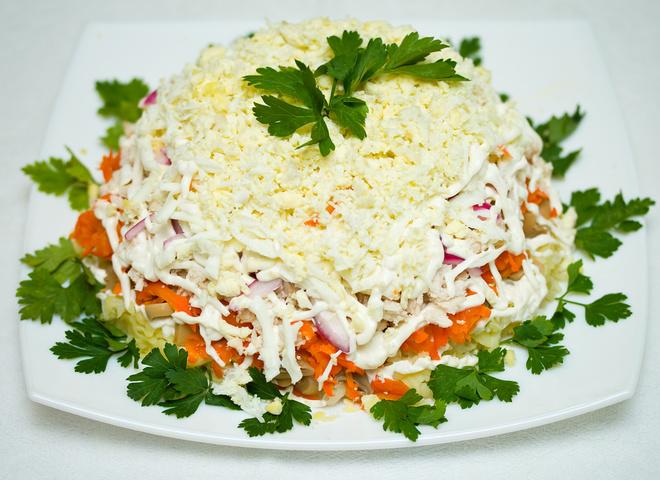салат мімоза рецепт
