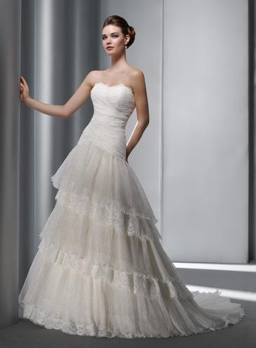 Свадебные 2012 платья фото