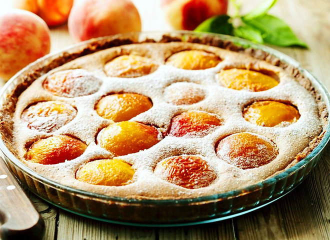30 минут - и десерт из персиков готов