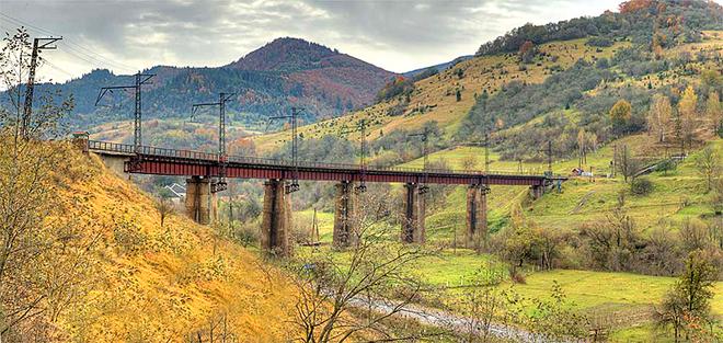 Мосты Украины: Закарпатье, с. Ужок