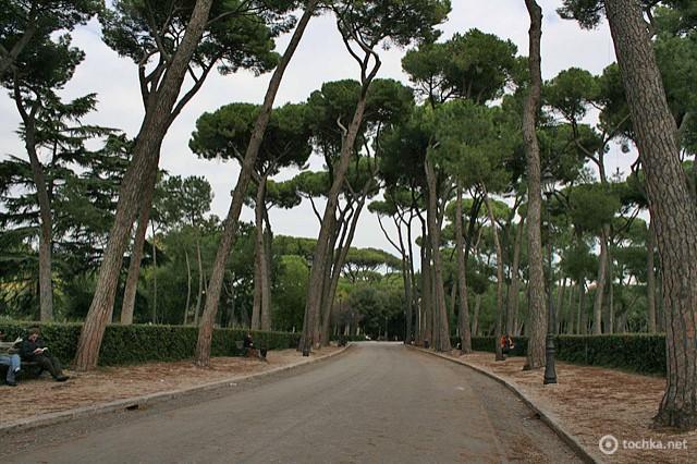 Цікаві місця Риму: парк Боргезе