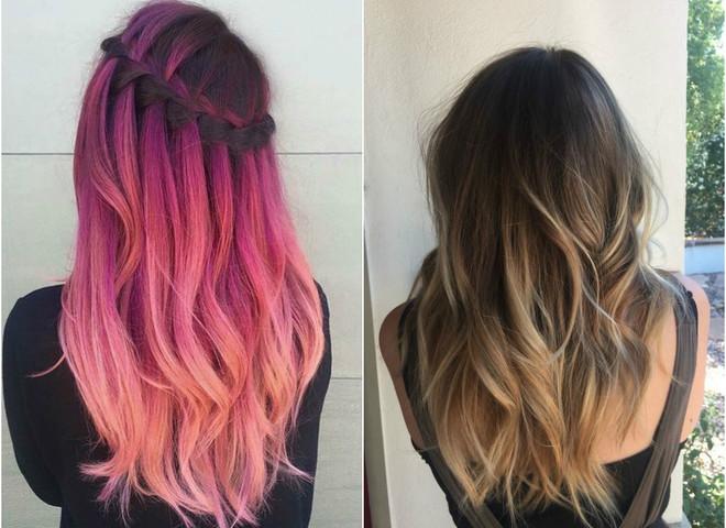 Модные оттенки волос на лето 2017