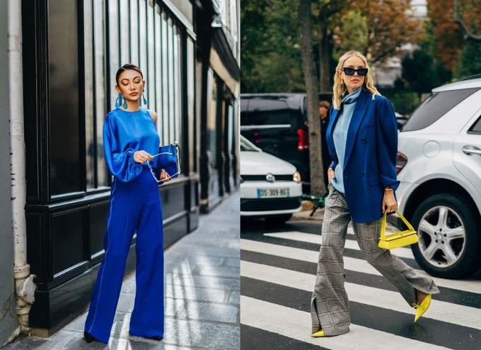 Настоящий синий — модный цвет на осень 2020