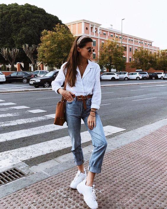 Біла сорочка осінь 2018