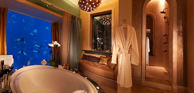 Незвичайні номери в готелях: Poseidon Suite, Atlantis The Palm Hotel, ОАЕ
