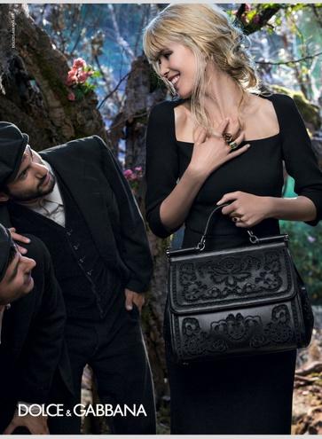 Рекламная кампания Dolce&Gabbana fw 14/15