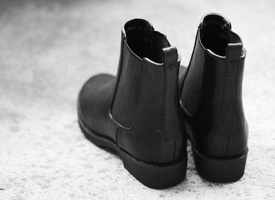 Модні чоботи 2016: черевики челсі (street style)