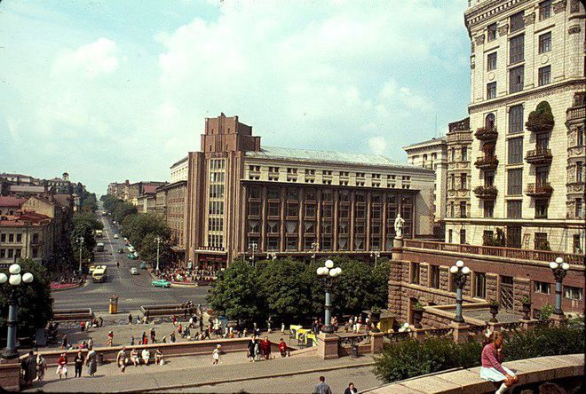 Ретроспектива: Киев 50 лет назад
