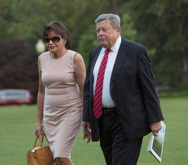 Родители Мелании Трамп