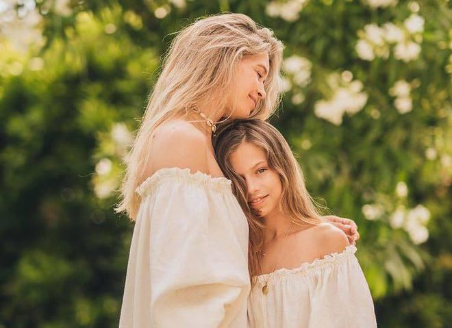 Віра Брежнєва з донькою Сарою Кіперман