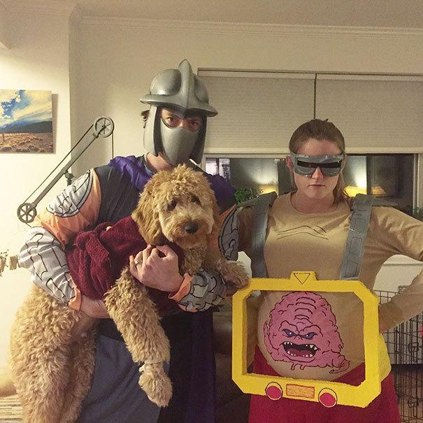 Оригинальные и стремные костюмы для беременных на Хэллоуин