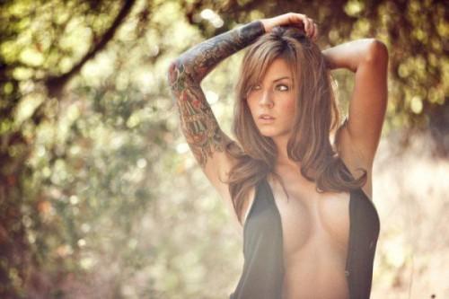 Татуированные красотки