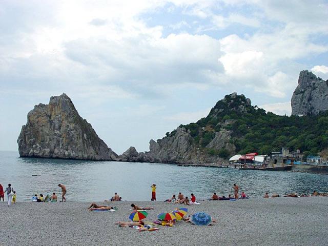 Нудистские пляжи Крыма: Симеиз