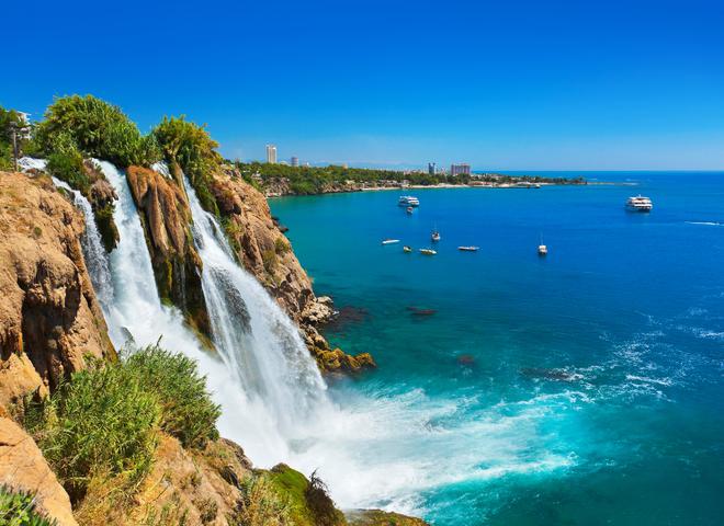 Водопад Дюден: одно из красивейших мест Анталии