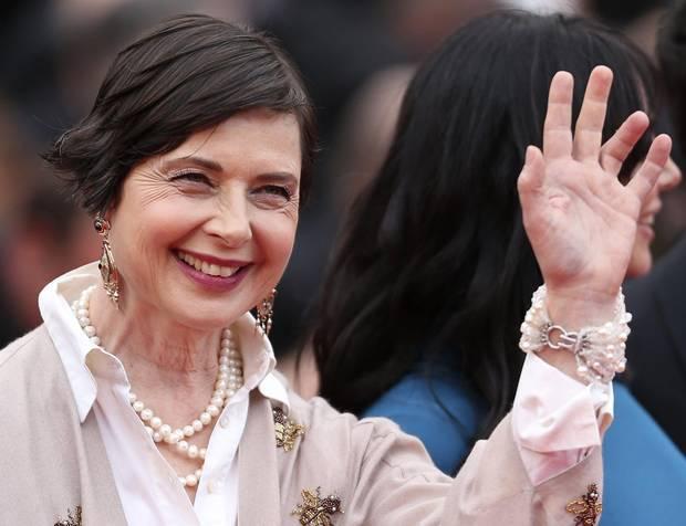 Изабелла Росселлини снова станет лицом Lancôme