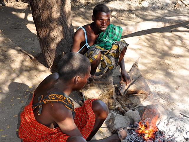 Племена, где может пожить турист: Племя Барабайг (Танзания)