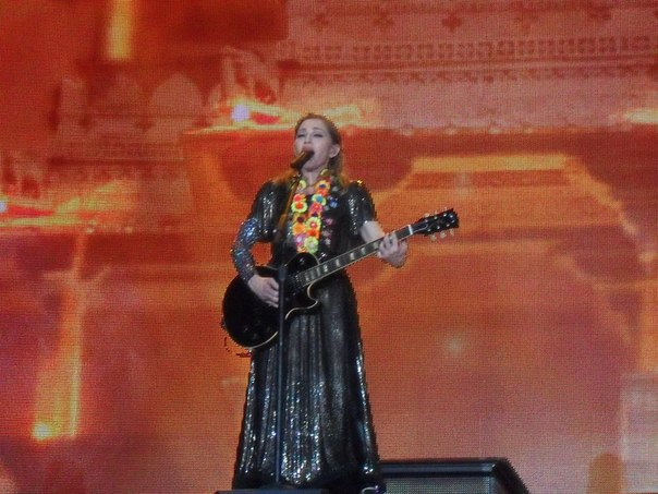 Мадонна в Москве