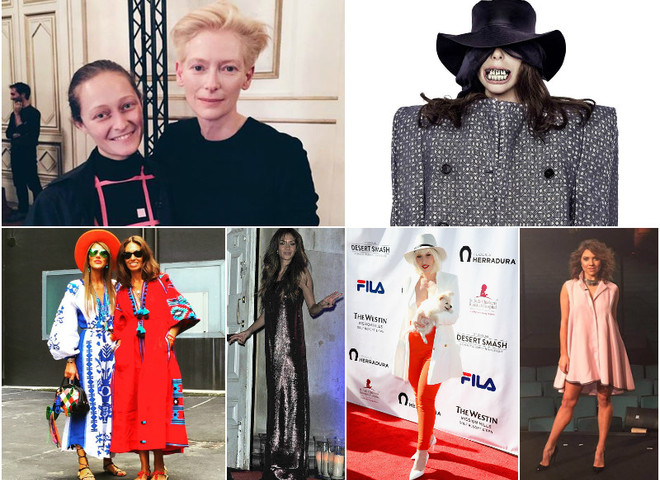 Знаменитості в одязі українських дизайнерів