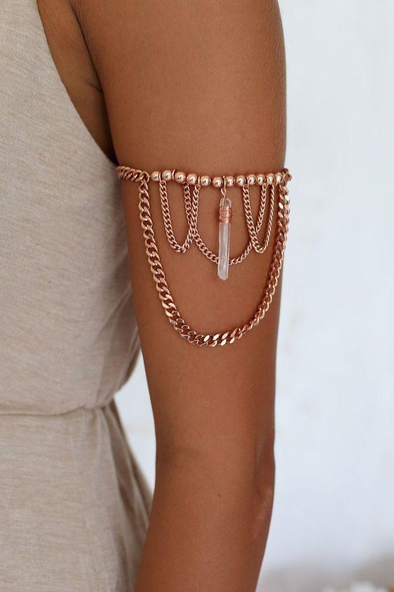 Пляжные браслеты на плечо