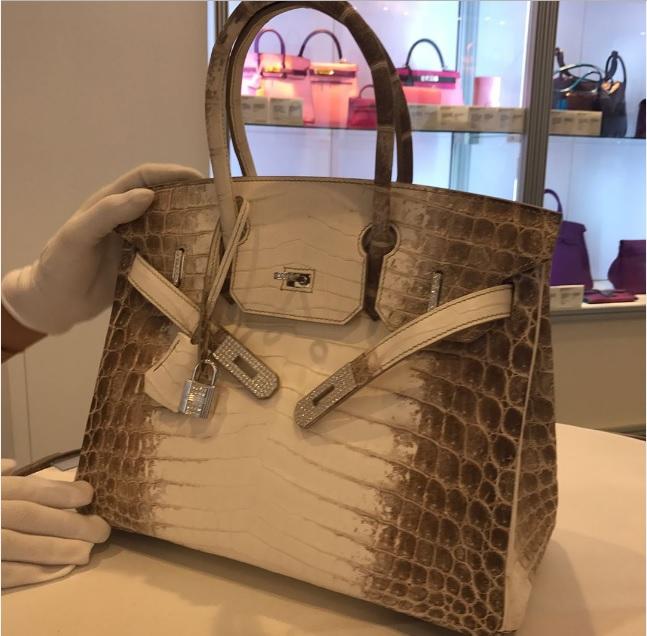 Самая дорогая в мире сумка - Birkin за 200 тысяч
