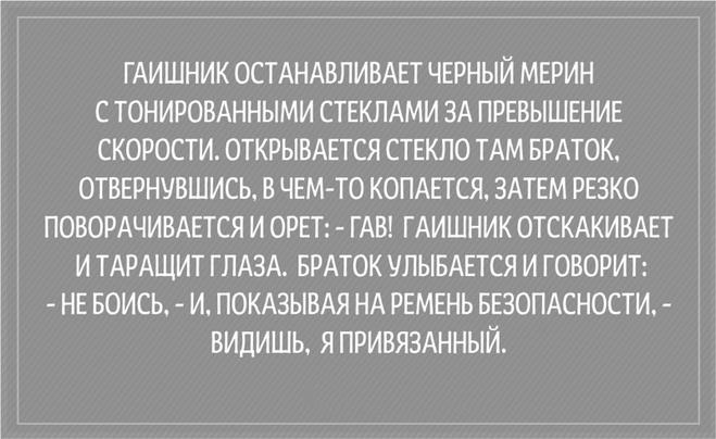 Подборка приколов про ГАИшников