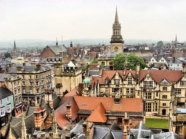 путешествие в Оксфорд