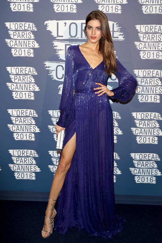 Канни: вечірка L'Oréal Paris Blue Obsession