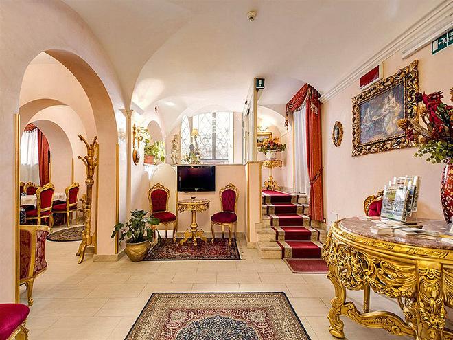 Романтические отели Европы: Hotel Romance, Rome