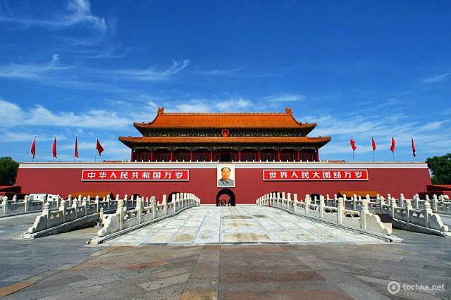5 крупнейших городских площадей в мире: Площадь Тяньаньмэнь, Пекин, Китай