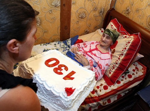 Возраст - не шутка! 130 лет - тем более!