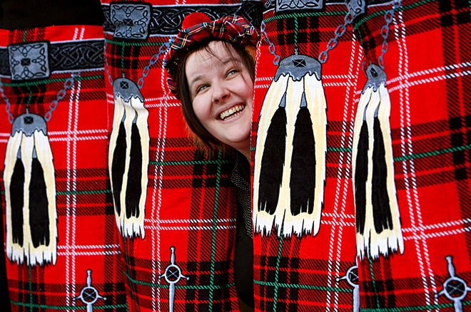 5 речей, які потрібно прикупити в UK: шотландський кілт
