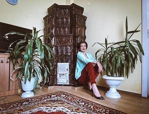 Мальвина Чукля в фотосессии по FaceTime