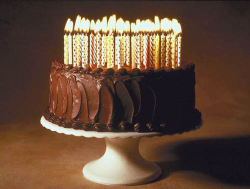 Тортик с Днем рождения