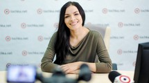 Надежда Мейхер в гостях у tochka.net