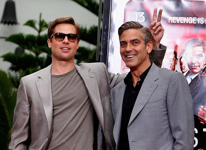 Бред Пітт і Джордж Клуні